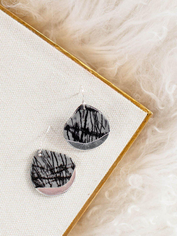 Scout Dipped Stone Accent Earrings