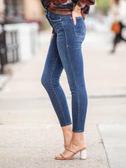 Basic Good American Ankle JEans