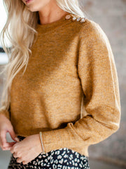 heartloom shoulder accent sweater