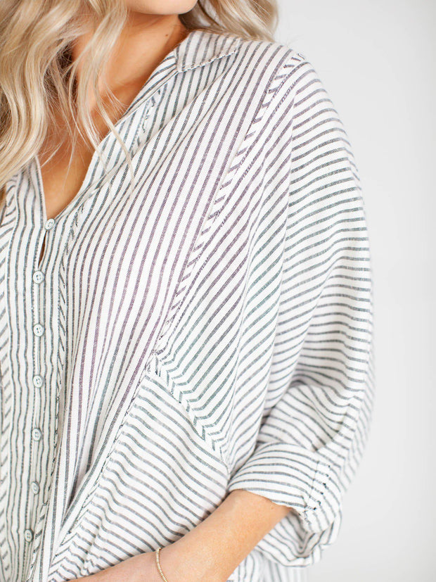 free people stripe top