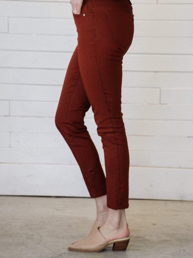 Democracy Ankle Length Colored Pants