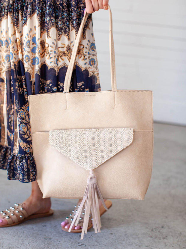 Fringe Statement Tote Bag