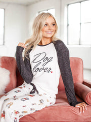 pj salvage dog lover top
