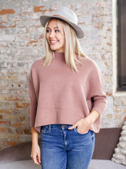 ribbed detail boxy cropped top