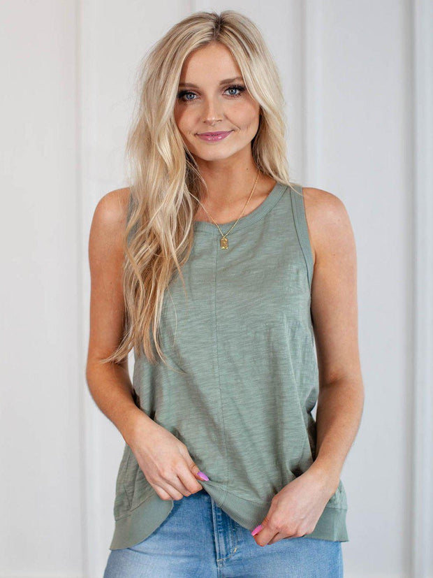 Dylan Slub Cotton Tank