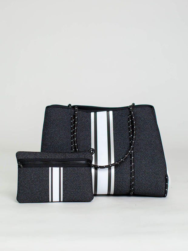 stripe haute shore handbag