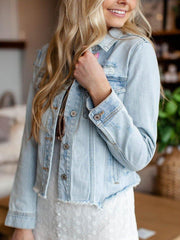 KanCan Lightwash Denim Jacket