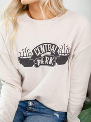 central perk graphic sweatshirt