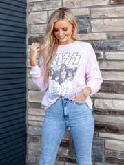 KISS Crew Neck Long Sleeve Tee