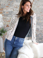 Saltwater Luxe Animal Print Jacket