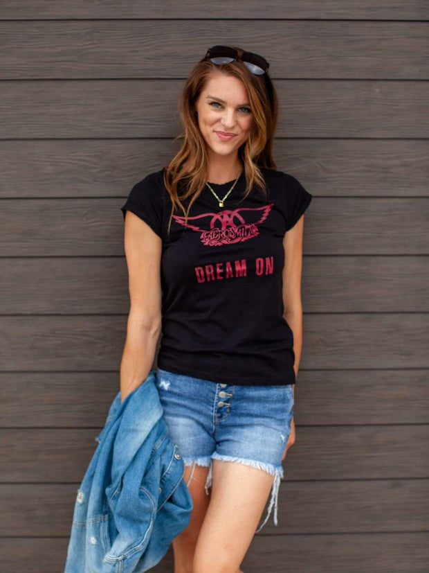 Aerosmith Dream On Graphic Tee