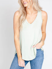 solid relaxed tank