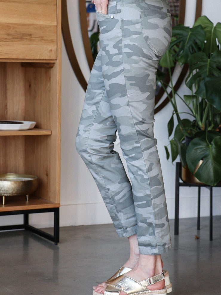Democracy Camo Print Pants