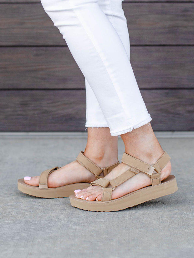 Teva Leather Strap Sandal