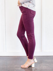 kancan burgundy pants