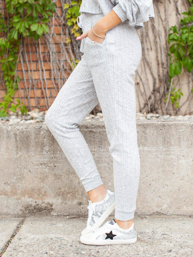 Billabong Drawstring waist Grey Joggers