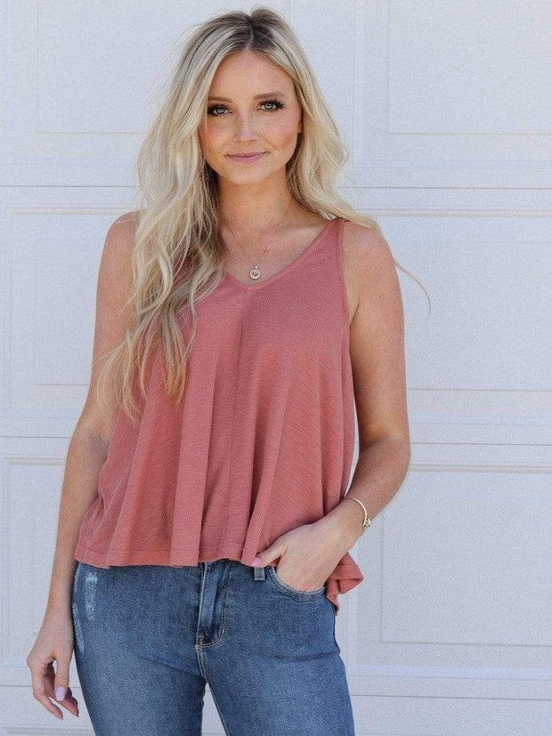 Free People V-Neck Dani Tank