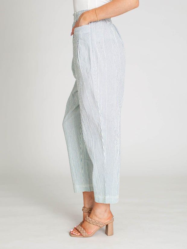 free people stripe trouser