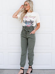 Joe's Jeans High Rise Belted Jogger Pants