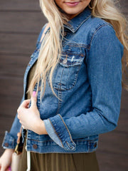 Kut Basic Amelia Denim Jacket