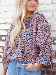 billow sleeve blouse