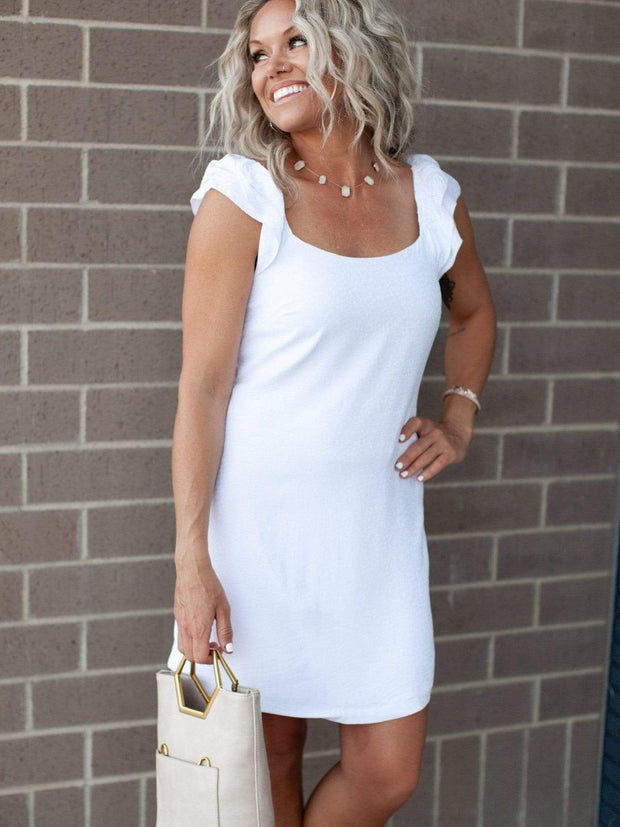 Gentle Fawn statement Sleeve Dress