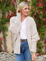 Cable Knit Soft Cardigan