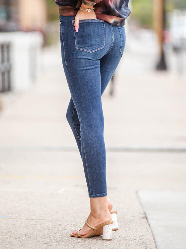 Good American Ankle Crop Basic Denim
