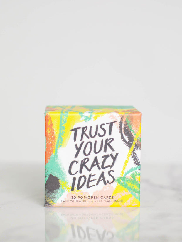 Trust Your Crazy Ideas ThoughtFulls Pop-Open Cards