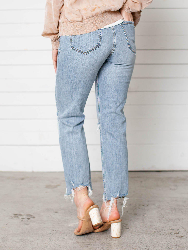 daze straight denim