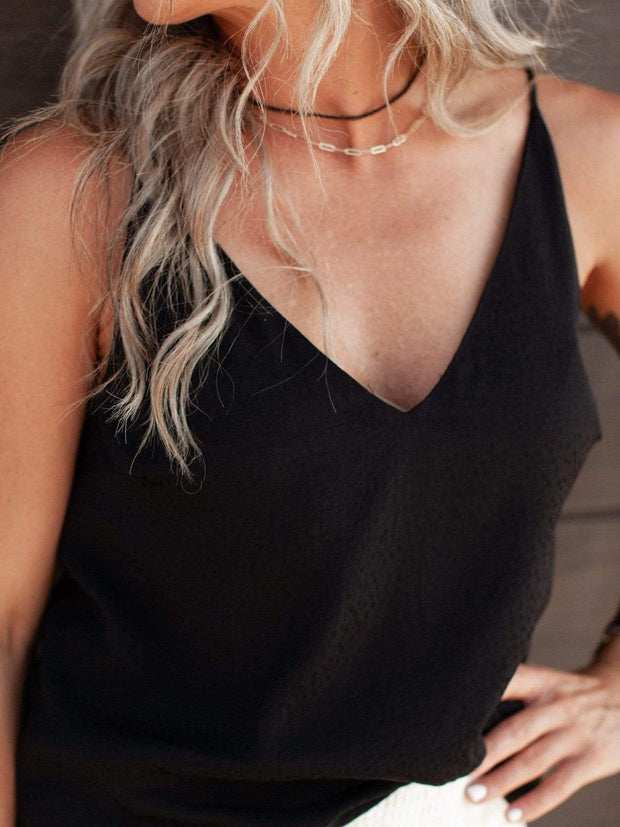 V-Neck Gentle Fawn Basic Tank