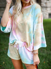 oversized sleeve sweatshirt