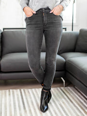 good American black denim