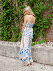 Free People Floral Maxi Slip Dress