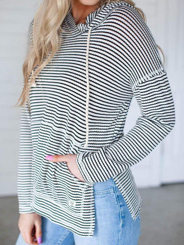 Billabong Textured Stripe Hoodie