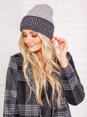 two tone free people hat