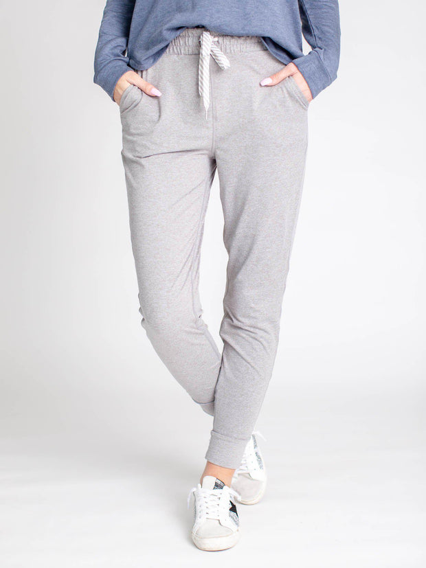 heather grey Junie jogger