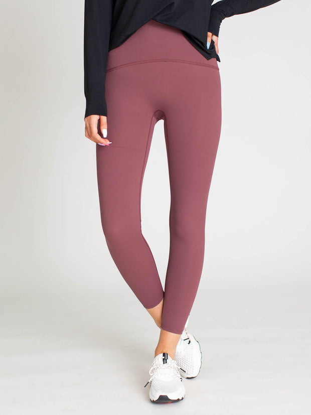 high waist colored leggings