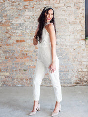 Adelyn Rae All Lace Jumpsuit