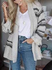BB Dakota fringe cardigan