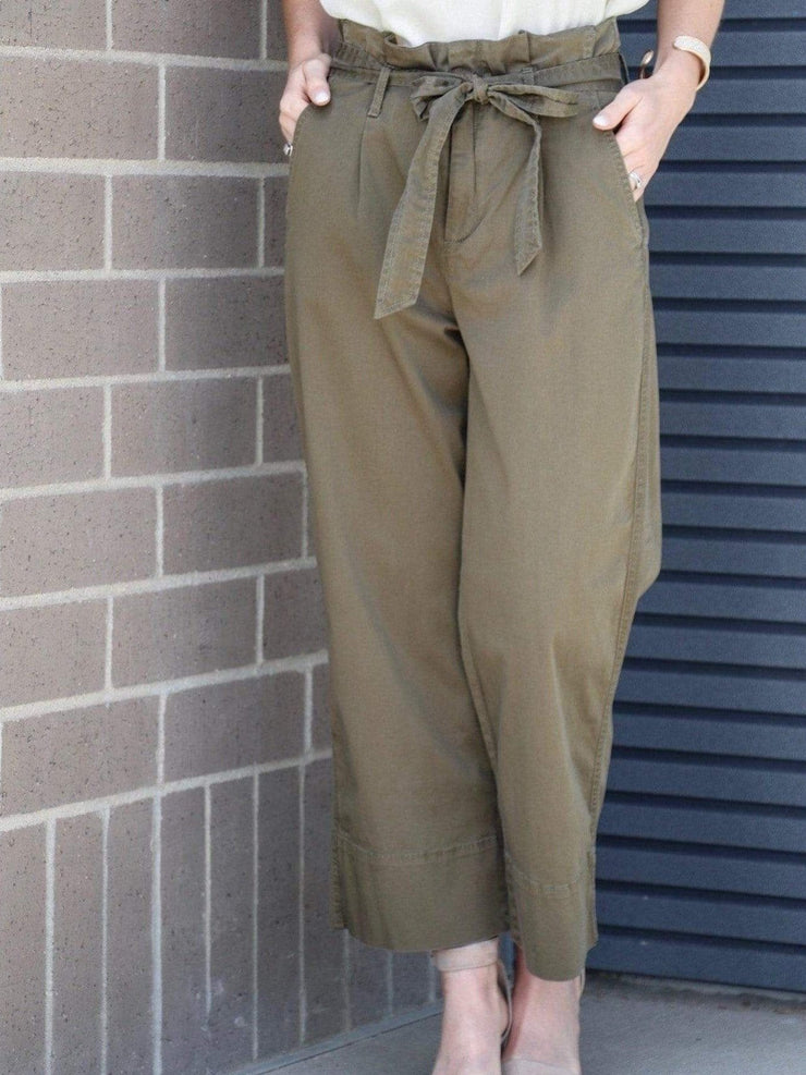 Kut from the Kloth tapered olive pant