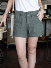sanctuary cuffed short