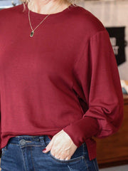 Z Supply Burgundy sweatshirt