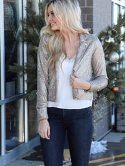 Saltwater Luxe Cropped Dressy Blazer