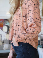 Saltwater Luxe Dressy Button Down Blouse