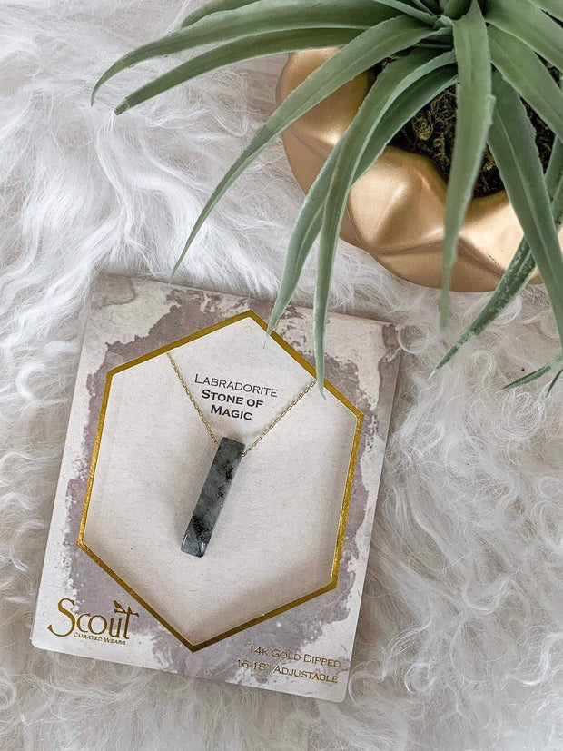 Scout Stone Point Necklace