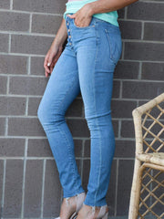 high waisted skinny jean