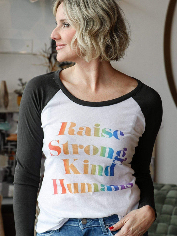 Chaser Raise Strong Kind Humans Tee