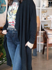 Z Supply Basic Long Open Front Cardigan