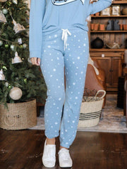 PJ Salvage Star Print Jogger Lounge Pants